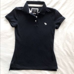 Abercrombie polo shirt navy